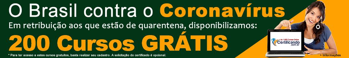 Cursos Gratuitos Coronavirus